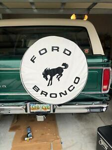 Sparecover Abc Series Ford Bronco 30 White Heavy Duty Vinyl Tire Cover