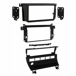 Metra 95 9310b Dash Kit For Double Single Din Radio Replace Install