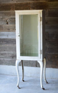 Antique Apothecary Medical Cabinet