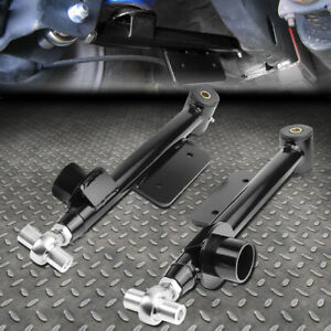 For 79 98 Ford Mustang Pair Adjustable Rear Suspension Lower Control Arms Kit