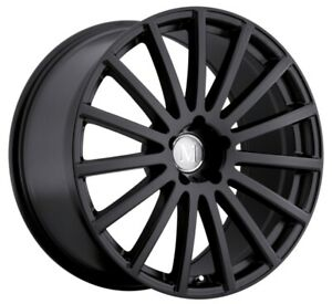 20x8 5 Mandrus Rotec 5x112 Rims 35 Matte Black Rims Set Of 4