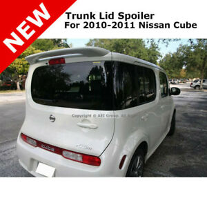 For Nissan Cube 10 Trunk Rear Roof Spoiler Painted Cayenne Red Nah