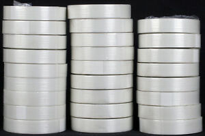 Ipg Itape Filament Strapping Clear Packing Tape Lot Of 25 1 Inch 60 Yard Rolls