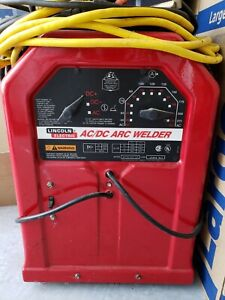 Lincoln Electric Ac dc Arc Welder 225 125 60hz With Cables excellent Condition