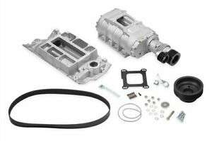 Weiand 6505 1 177 Series Supercharger Kit 1962 68 Small Block Chevrolet Short No