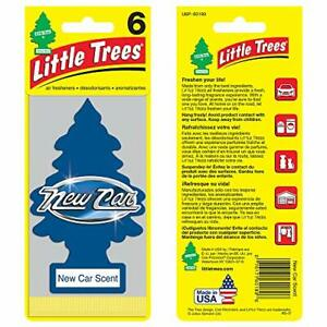 Little Trees Auto Air Freshener New Car Scent