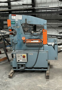 Used Scotchman Ironworker Model 4014cm 40 Ton Hydraulic 3 Hp 3 Ph 14 Blade