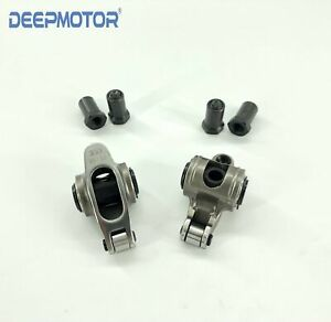 Chevy Sbc 350 1 50 Ratio 3 8 Self aligning Stainless Steel Roller Rocker Arm