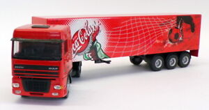 Lion Toys 1/50 Scale Model Truck No.36 DAF 95 XF Truck & Trailer Coca-Cola