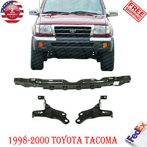 Front Bumper Reinforce Bracket Kit For 1998 2000 Toyota Tacoma Pre Runner