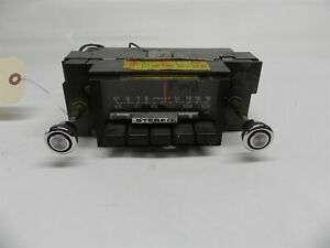 1973 Ford Vintage Used Am Fm Stereo Radio W Original Knobs Untested D3aa 19a241