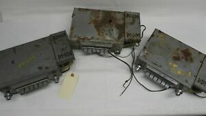 1955 1956 Mopar Chrysler Plymouth 3 Vintage Used Am Radios Untested Mopar 835