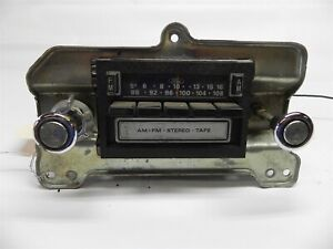 1978 79 80 81 82 83 84 Ford Used Am Fm 8 Track Radio Untested Rare D8af 19a168