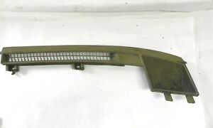 1973 Cadillac Right Upper Dash Panel Green Used With Speaker