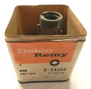 1968 Gm Chevy Ignition Switch New Old Stock Gm 1116694 In Orig Delco Remy Box