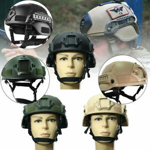 MICH2000 Helmet Outdoor Airsoft Military Tactical Combat Riding Hunting Tools