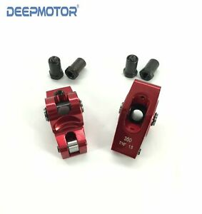 Deepmotor Chevy Sbc 262 350 400 1 5 Ratio 7 16 Aluminum Roller Rocker Arms