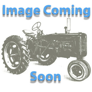 Ih Farmall Deluxe Seat Pan Silver Canvas Rod Style New