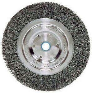 Atd Tools 8350 6 Wire Wheel With Spacer For 1 2 Arbor