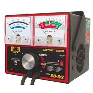 Auto Meter Products Sb 52 800 Amp Variable Load Carbon Pile Tester