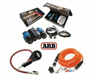 Arb High Performance On Board Compressor Pump Up Kit Digital Tire Inflator