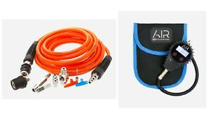 Arb Pump Up Accessory Kit For Compressors Digital Backlit Tire Inflator Gauge