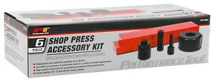 Wilmar Performance Tool W41065 6 pc Shop Press Accessory Kit