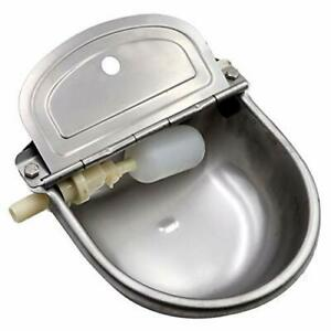 Automatic Stock Feeder Trough Bowl Dispenser Waterer For Pet Dog Horse Cattle