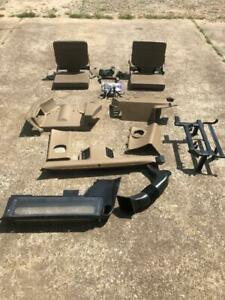 Land Rover Discovery 1 Jump Seats W Hardware Tan Interior W Rear Air