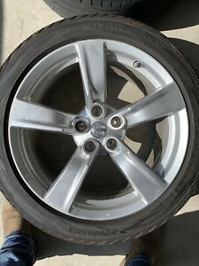 Oem Nissan 370z Wheels W Tires And Tpms