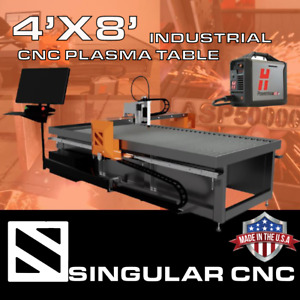 Singular Cnc 4x8 Industrial Cnc Plasma Table Turnkey W Hypertherm Powermax 45xp