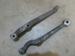 1950 Buick Super Front Spindle Steering Arm Pair Set Hot Rod Rat Rod Parts