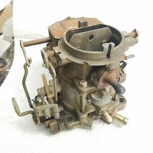 Carter 2 barrel Carburetor 8146s Needs Rebuilt