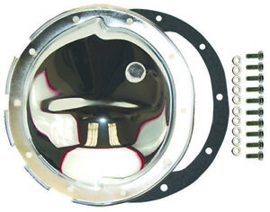Chevy 10 Bolt Chrome Steel Differential Cover 8 5 Camaro Nova Chevelle