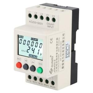 Over Under Voltage Protector 3 Phase Voltage Monitoring Sequence Relay Jvr800 2