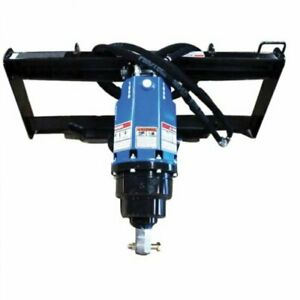 Blue Diamond Skid Steer Post Hole Auger Assembly Planetary Drive Heavy Duty