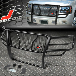 J2 For 07 14 Tahoe Avalanche 1500 Front Bumper Grille Honeycomb Mesh Brush Guard