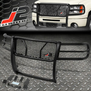 J2 For 07 13 Gmc Sierra 1500 Front Bumper Grille Honeycomb Mesh Brush Guard Set