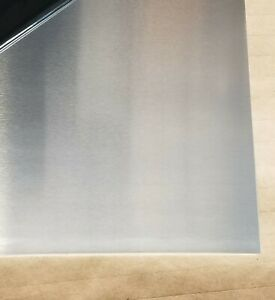 1 10 5052 Aluminum Sheet 48 X 14 05 Mill Finish With Pvc Protection