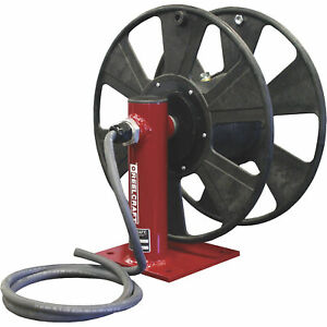 Reelcraft Safe t reel Heavy duty Hand Crank Cable Welding Reel 250ft Capacity