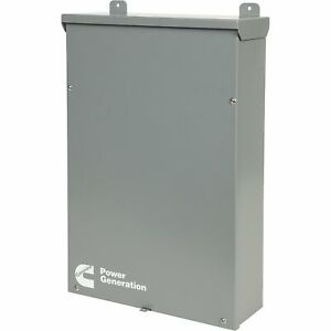 Cummins Automatic Transfer Switch 100 Amps Model Ra100