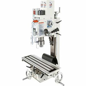 Shop Fox Milling drilling Machine With Dro 3 4 Hp 110v Model M1116