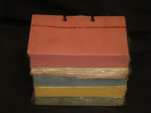 Nip 500 Unbranded Blank Refill Cards 4 Rotary File Pink Blue Yellow Green White