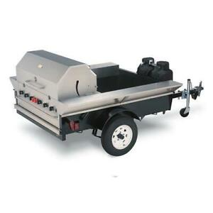Crown Verity Tg 2 48 Towable Bbq Grill Tailgate Or Concession Trailer