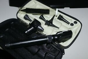 Welch Allyn 728 Set Ophthalmoscope 111 Otoscope 2 Heads With Extras 3