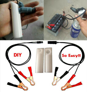 Fuel Injector Remover Tool Diy Car Cleaner Adapter Kit Accessories Universal