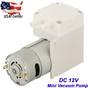12v Dc Mini Noiseless Vacuum Pump Negative Pressure Suction Pump 7l min 50kpa