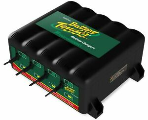 Battery Tender 12 volt 4 bank Battery Management System lightweight Design