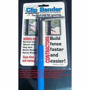 Rebar Cutters Benders The Clip Bender Ultimate Fencing Tool t Post Clips By