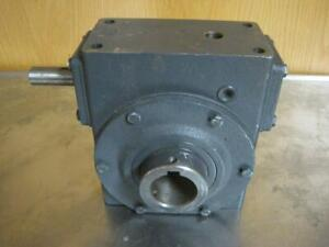 New Hub City Worm Gear Speed Reducer 20 1 Ratio 1750 Max Hp Model 322